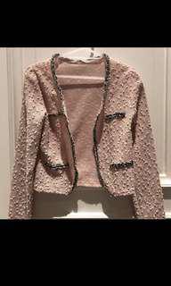 Tweed blazer size M