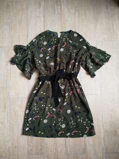 Filinto Frill Sleeve Dress
