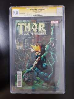 Thor: God of Thunder (2014) #25 CGC graded 9.8 SS