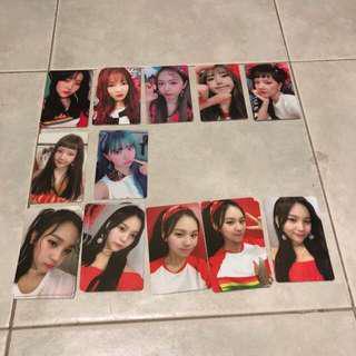 G-Friend - Sunny Summer Photocards