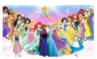 長期徵收換物!迪士尼公主週邊  只換物喔!