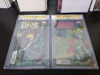 Thor: GOD of Thunder (2014) #25 CGC 9.8 SS