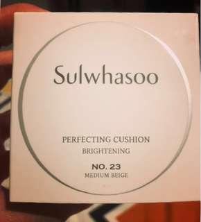 Sulwhasoo perfecting brightening cushion