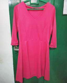 Dress Shocking Pink