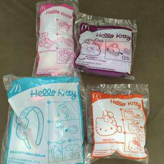 麥當勞開心樂園餐玩具 MCDONALD SANRIO HELLO KITTY
