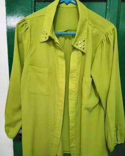 Light Green Blouse