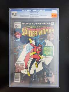 Spider-Woman (1978) #1 CGC 9.8