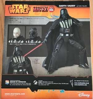 全新未開封 Medicom MAFEX No. 006 Star War Darth Vader