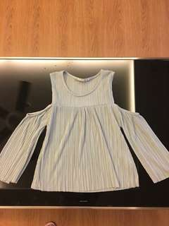 Pull and bear cold shoulder top