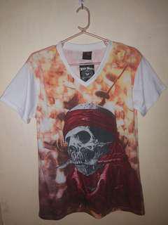 Skull designed t-shirt
