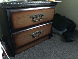 2x Bedside Cabinet