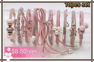 Hair Ties 10pcs Set