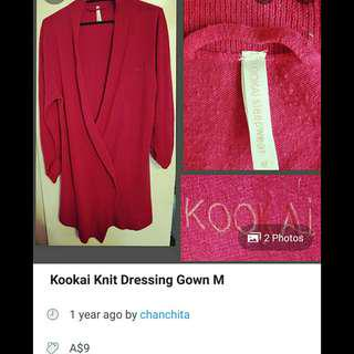 Kookai Dressing Gown
