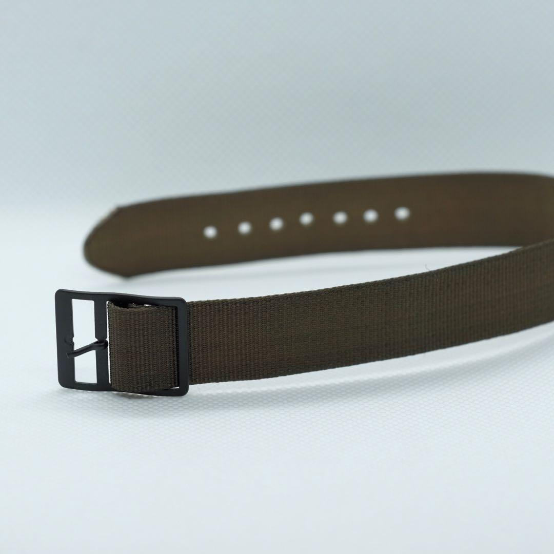 5345189ae01 17mm NOS vintage U.S. Military nylon one-piece watch straps