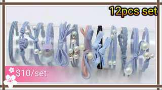 Hair Ties 12pcs Set