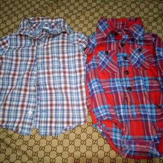 Take all Branded longsleeve for him(Size 12-18M)