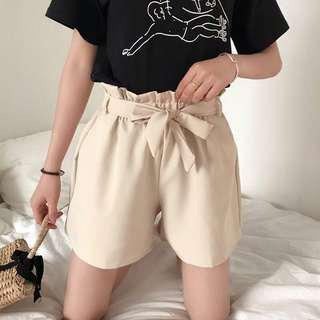 elastic shorts