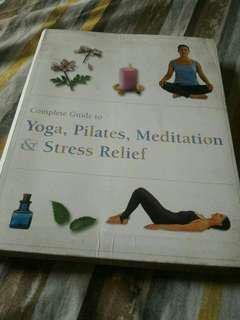 Yoga, Pilates Book