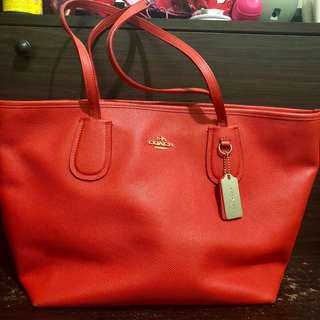 Coach Zip Tote Authentic