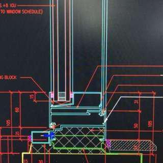 CAD圖製作及室內設計