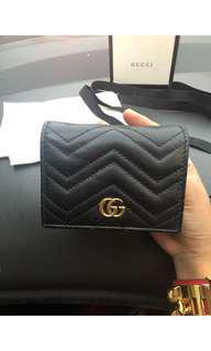 Gucci Marmont Small Wallet Black 2018