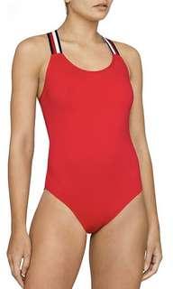 Tommy Hilfiger stripe bodysuit size small