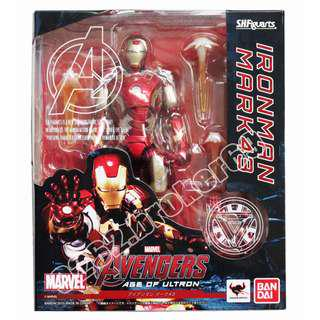Bandai S.H.Figuarts The Avengers Iron Man Mark 43