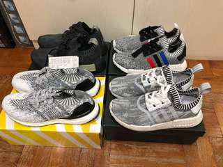 BNDS adidas NMD PK R1/Uncaged US8.5-9.5
