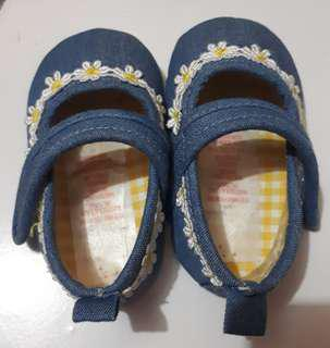 Shoes baby denim