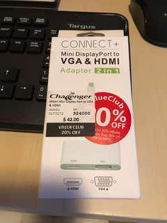 Mini Display Port to VGA & HDMI