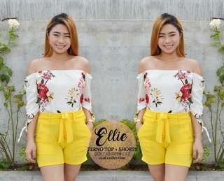 Ellie Terno Top and Short