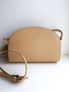 🚚 Reduced: APC Demi Lune Leather Shoulder Bag
