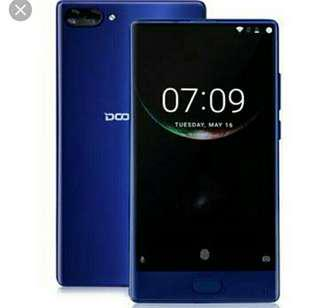 DOOGEE MIX 5.5 Inch.Android Version 7.0 6gb RAM 64gb ROM