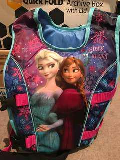 Disney Frozen swimming vest