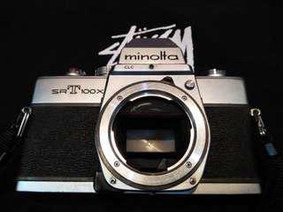 Minolta SRT 100X + MC Rokkor f1.7