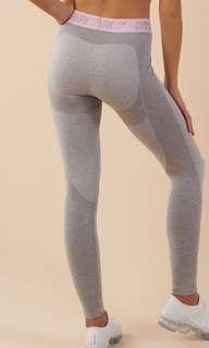 Gymshark Flex Leggings baby pink & grey
