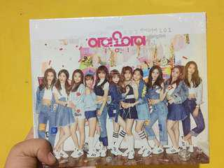 (ONHAND AND SEALED, BRAND NEW) IOI 1st Mini Album CHRYSALIS