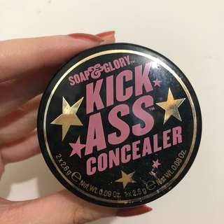 Soap and Glory's Kick Ass Concealer Three Piece Flaw Camouflage Kit