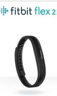 Fitbit Flex 2 plus 2 wrist bands