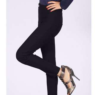 😆FREE SHIPPING* under 500g😆(S/M) Black Hot Fashion New Lady Women Solid Leisure Pencil Pants Casual Jeans Trouser Leggings
