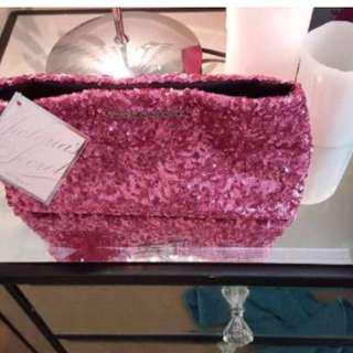 😆FREE SHIPPING* under 500g😆Brand New Victoria's Secret Sparkle Makeup Bag Brand New Victoria's Secret Sparkle Makeup Bag