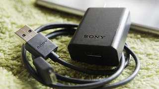 SONY Cable and Adapter