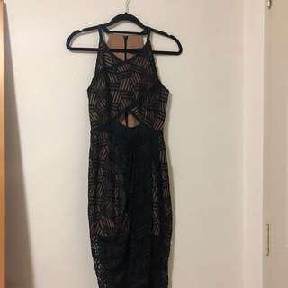 MDS Halter Neck Dress