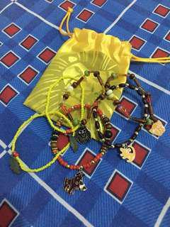 Limited edition The Lion King charm bracelets set