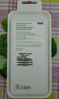 Samsung S8+原廠手機殼(黑色)