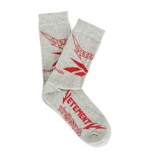 INSTOCK Vetements X Reebok Socks