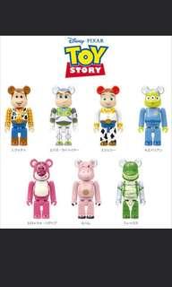 徵收 / 交換 Medicom toy bearbrick toystory 100% be@rbrick