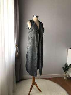 HnM Grey Vest Factory Outlet
