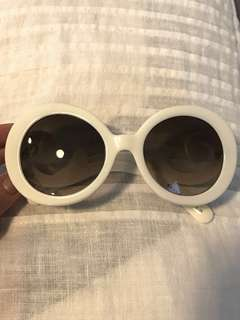Prada Cream Baroque Sunglasses