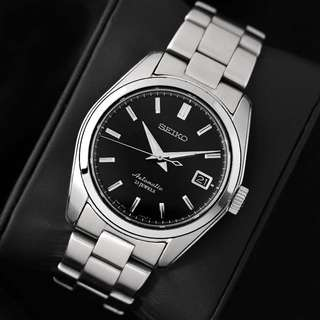 Seiko SARB033 Black Dial Automatic Dress Watch, 38mm Sapphire Crystal Case